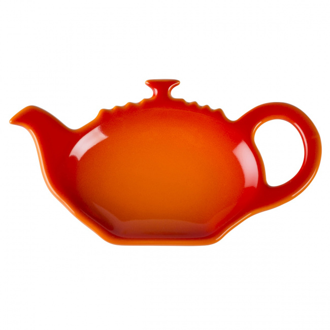 Talerzyk na torebkę herbacianą płomienna