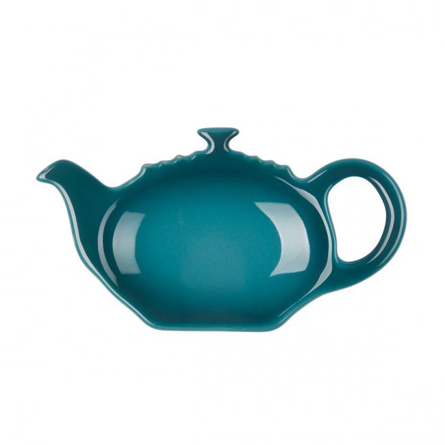 Talerzyk na torebkę herbacianą deep teal