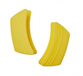 Komplet 2 uchwytów do naczyń cytrynowe