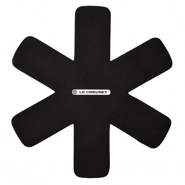 Komplet 3 przekładek do patelni czarne