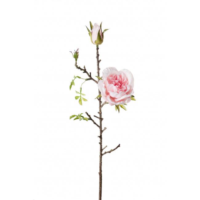 Kwiat róża różowa 45cm
