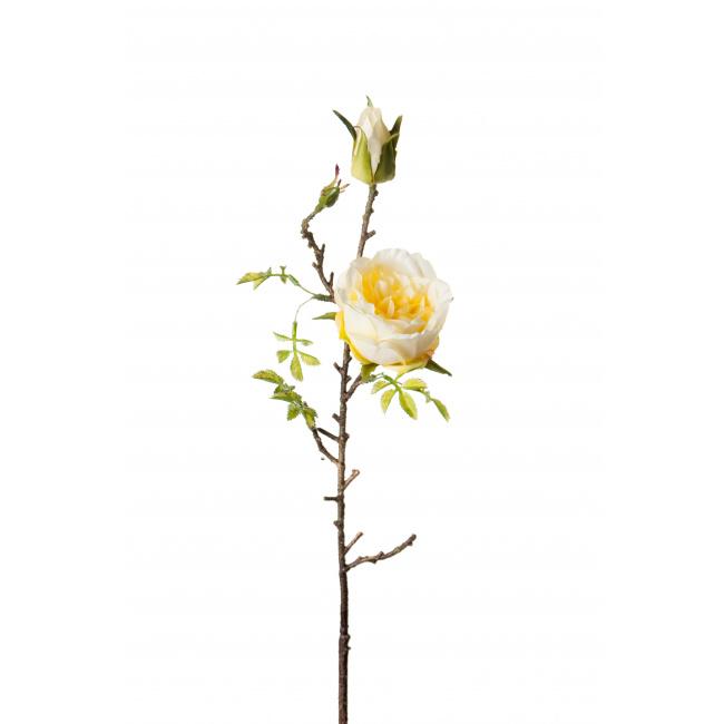 Kwiat róża żółta 45cm