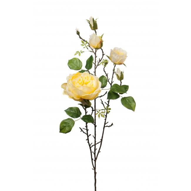 Kwiat róża żółta 90cm