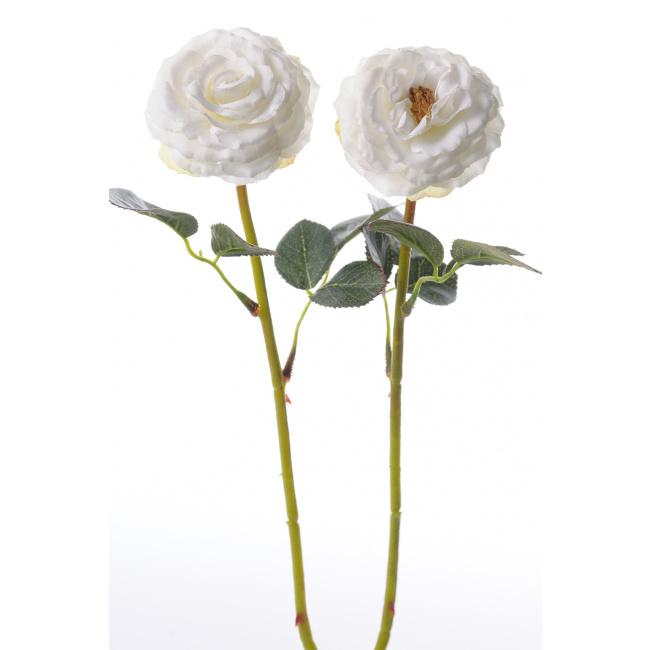 Kwiat róża biała 35cm