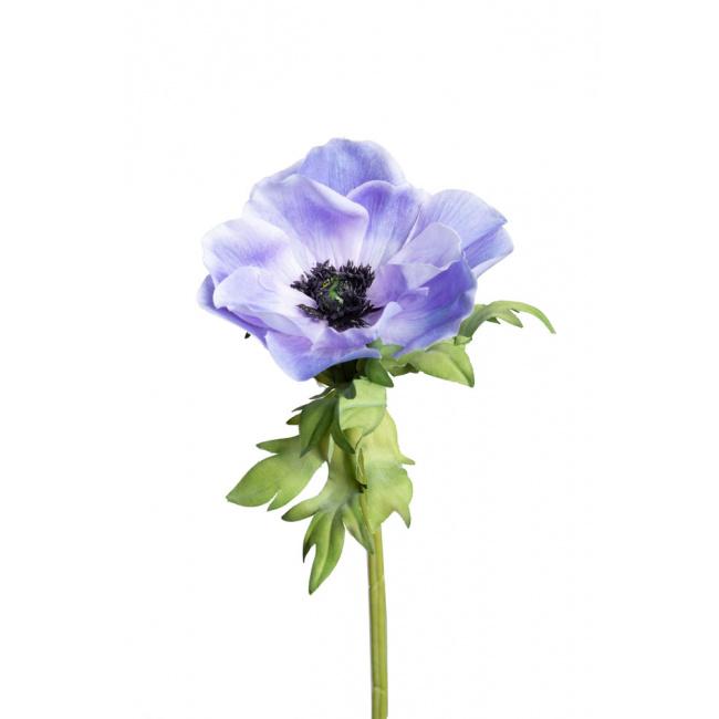 Kwiat zawilec niebieski 43cm