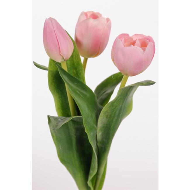 Kwiat tulipan różowy 36cm (1 sztuka mix)