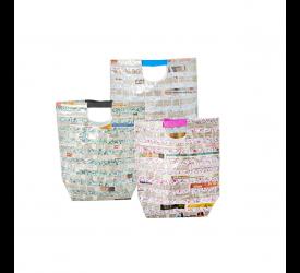 Torba Newspaper 49x39cm mix kolorów (1 sztuka)