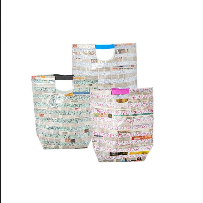 Torba Newspaper 49x39cm (mix kolorów 1 sztuka)