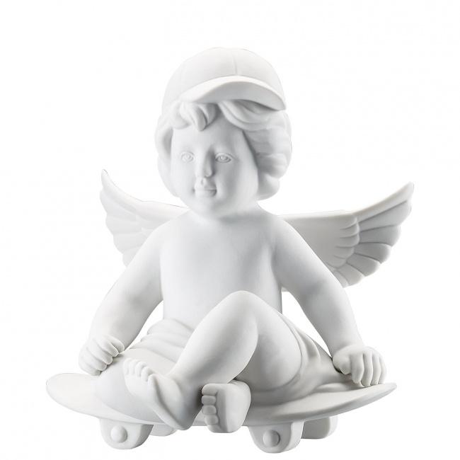 Aniołek duży na deskorolce