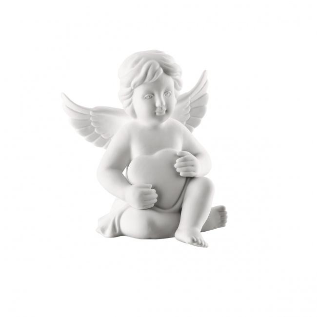 Aniołek duży z sercem