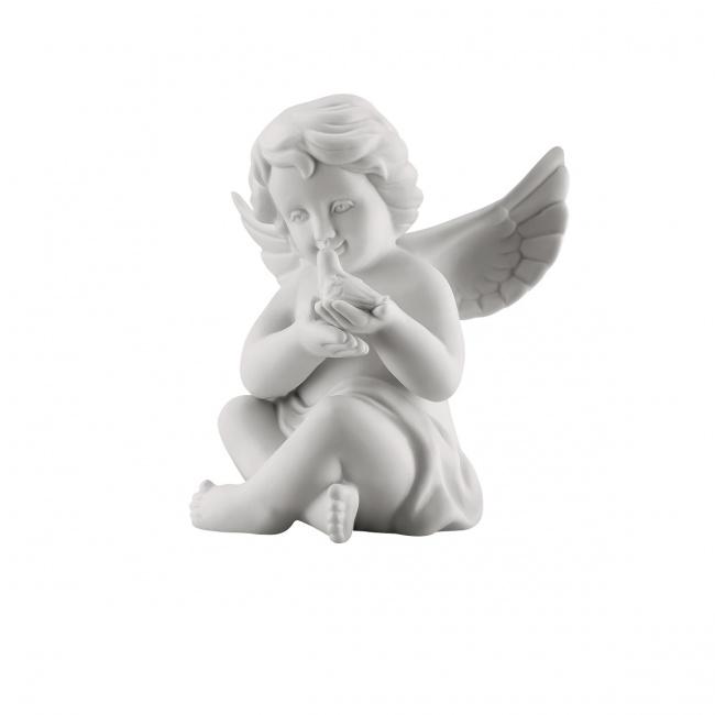 Aniołek duży z gołębiem