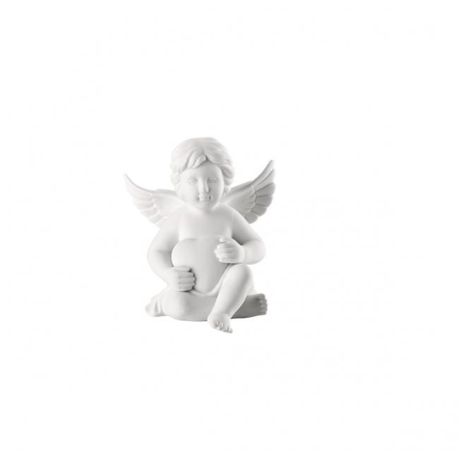 Aniołek mały z sercem