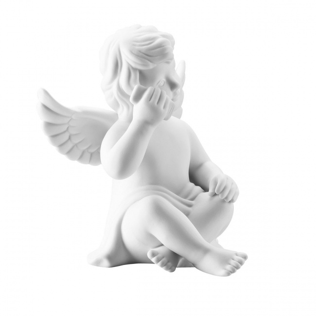 Aniołek średni ze smartfonem