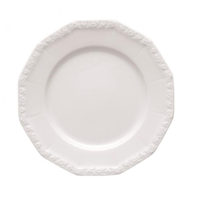 Talerz Biała Maria 25cm obiadowy