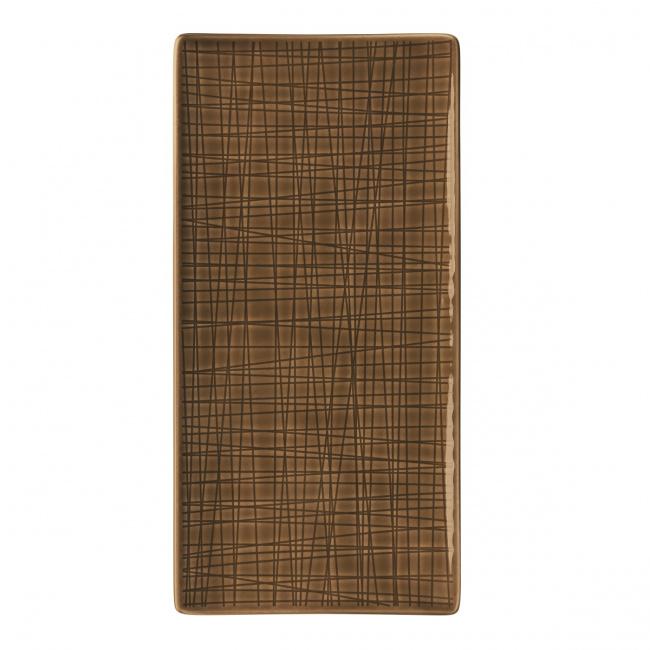 Półmisek Mesh Walnut 26x13cm