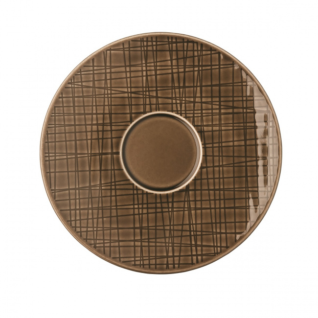 Spodek Mesh Walnut 16cm do filiżanki do kawy/combi