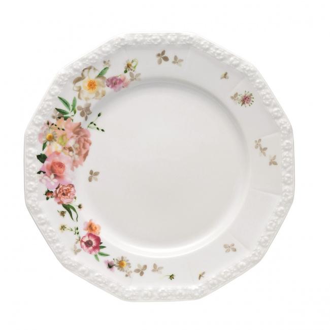 Talerz Maria Róża 26cm obiadowy