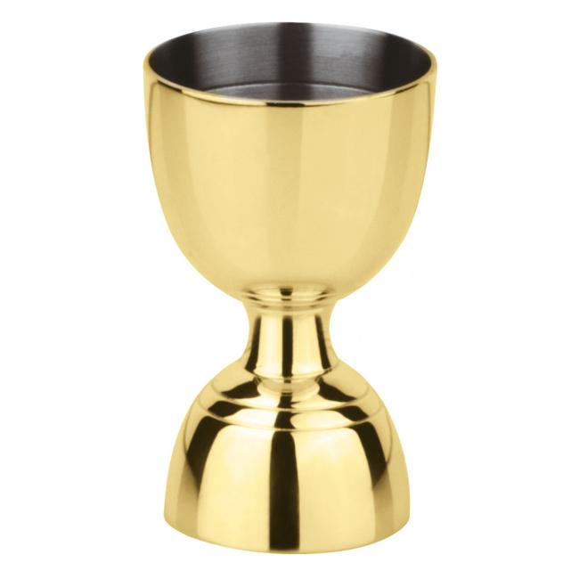 Miarka Cup Double 30/60ml złota