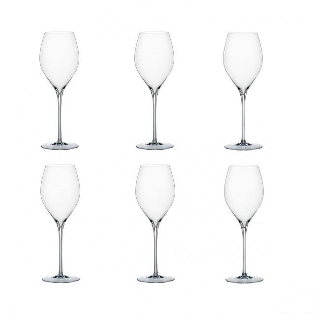 Komplet 6 kieliszków Adina Prestige 370ml do wina białego