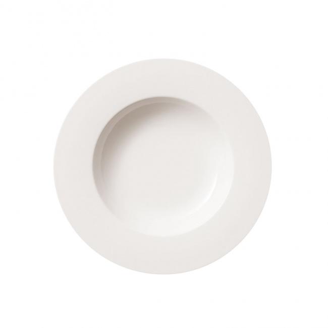 Talerz Twist White 24cm głęboki