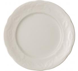 Talerz Rose Sauvage Blanche 26cm obiadowy