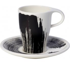 Filiżanka ze spodkiem Coffee Passion Awake 220ml do kawy