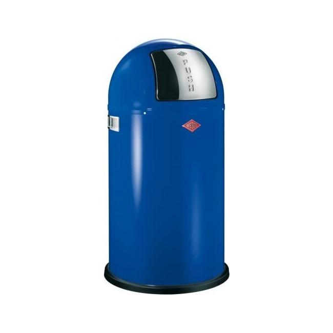 Kosz na odpady Pushboy 50l niebieski