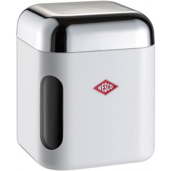 Pojemnik kwadratowy 1l biały