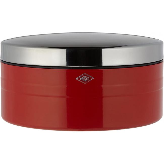 Pojemnik na ciastka 4l czerwony