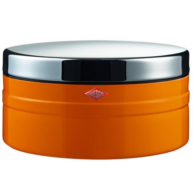 Pojemnik na ciastka 4l pomarańczowy