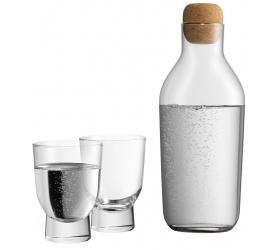 Karafka + 2 szklanki