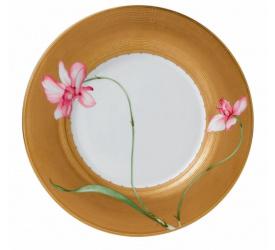 Talerz Gold Ring Bentley Orchid 28cm obiadowy