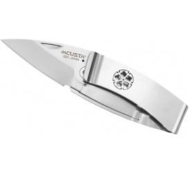 Nóż składany Mcusta Money Klip Kikyo AUS8 5cm