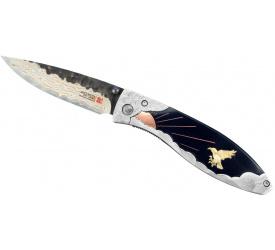 Nóż składany Mcusta Limited Yatagarasu Aogami