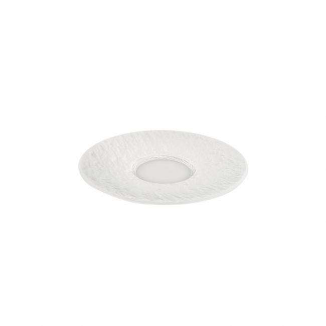 Spodek Manufacture Rock blanc 15cm do filiżanki do kawy
