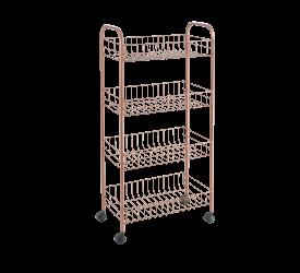 Wózek kuchenny 84x41x23cm miedziany