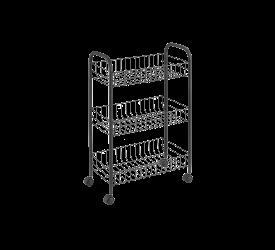 Wózek kuchenny 63x41x23cm czarny