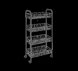 Wózek kuchenny 84x41x23cm czarny
