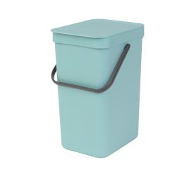 Kosz Sort & Go na odpady 12l mint