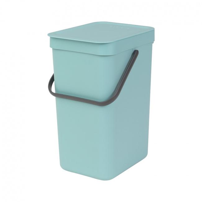 Kosz na odpady Sort & Go 12l mint
