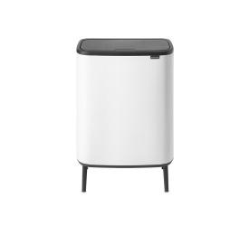 Kosz na odpady Bo Touch Hi 2x30l biały