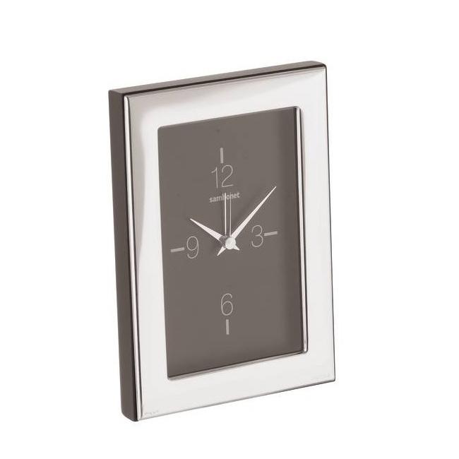 Zegar Silver Luxury 9x13cm