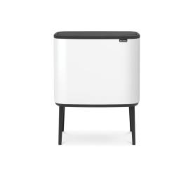Kosz na odpady Bo Touch 3x11l biały