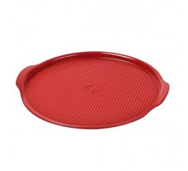 Kamień do pizzy 37cm czerwony