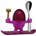 Kieliszek na jajko dla dziecka McEgg różowy