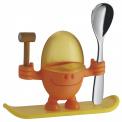 Kieliszek na jajko dla dziecka McEgg pomarańczowy
