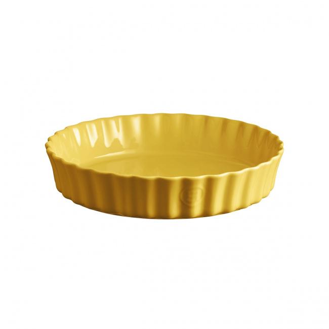 Naczynie do tarty 28cm żółte