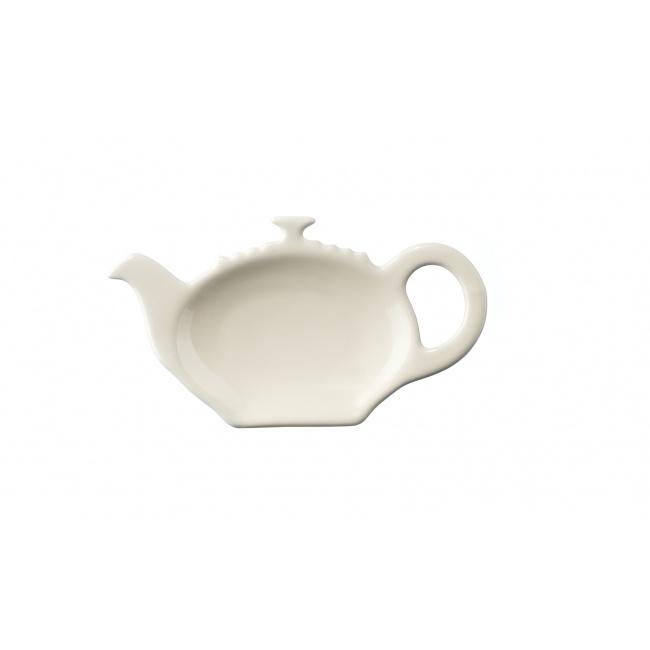 Talerzyk na torebkę herbacianą kremowy