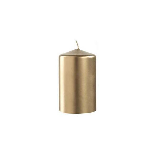 Świeczka Auora 10x7cm złota