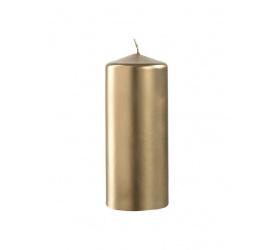 Świeca Aurora 15cm złota